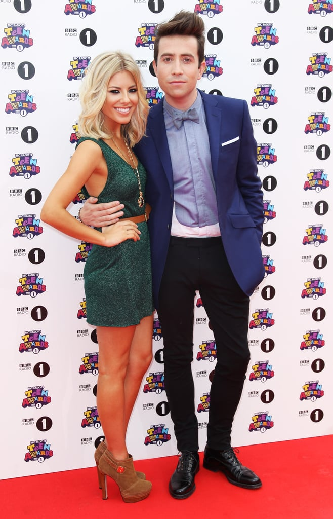 Mollie King and Nick Grimshaw