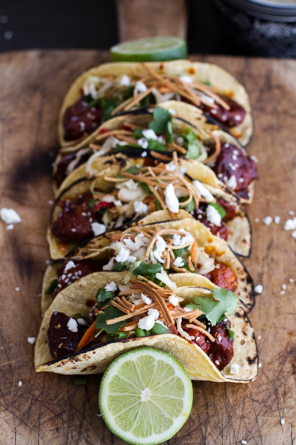 Mushroom, Rajas, And Corn Taco With Queso Fresco Recipes — Dishmaps