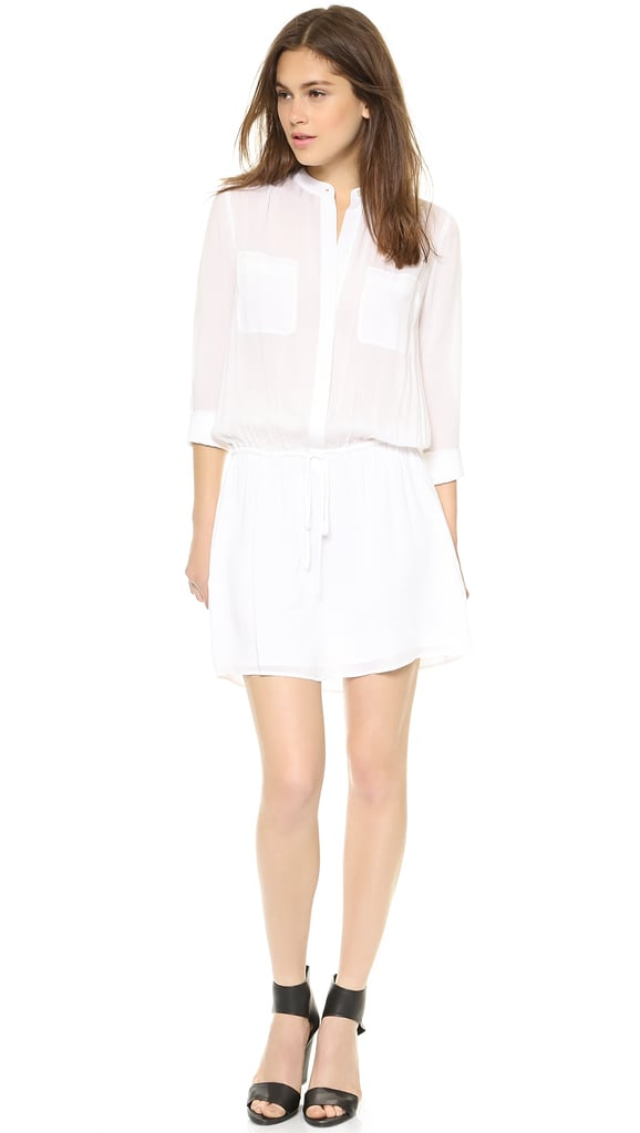 Vince White Shirtdress