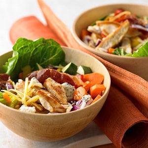 Fast & Easy Dinner: Crispy Chopped Chicken Salad