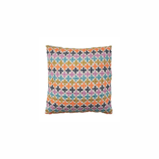 Megan Park Multi Snowflake Small Cushion, $149