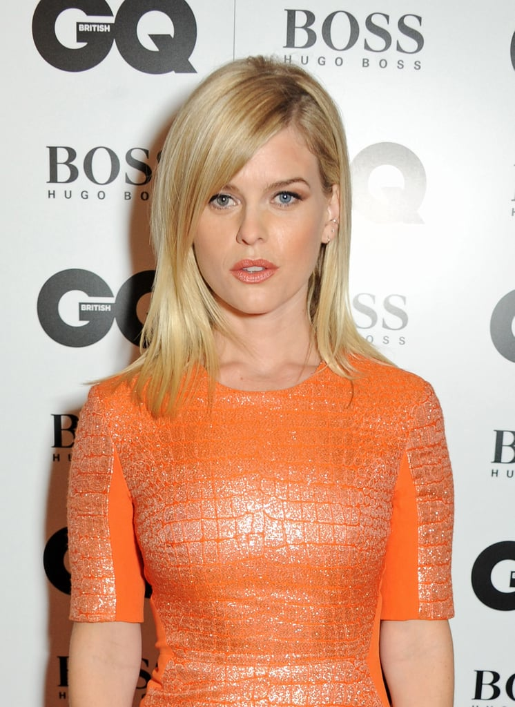 Straight and sleek, Alice Eve shows that midlength straight hair is always going to look great.