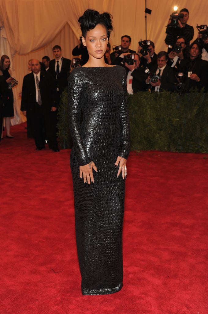 Rihanna was stunning in Tom Ford.
