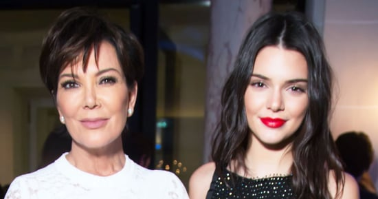 Kendall Jenner Gave Mom Kris a 'Selfish'-Like Book of Selfies at Age 14