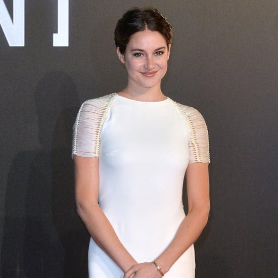 Shailene Woodley Insurgent Premiere Dress