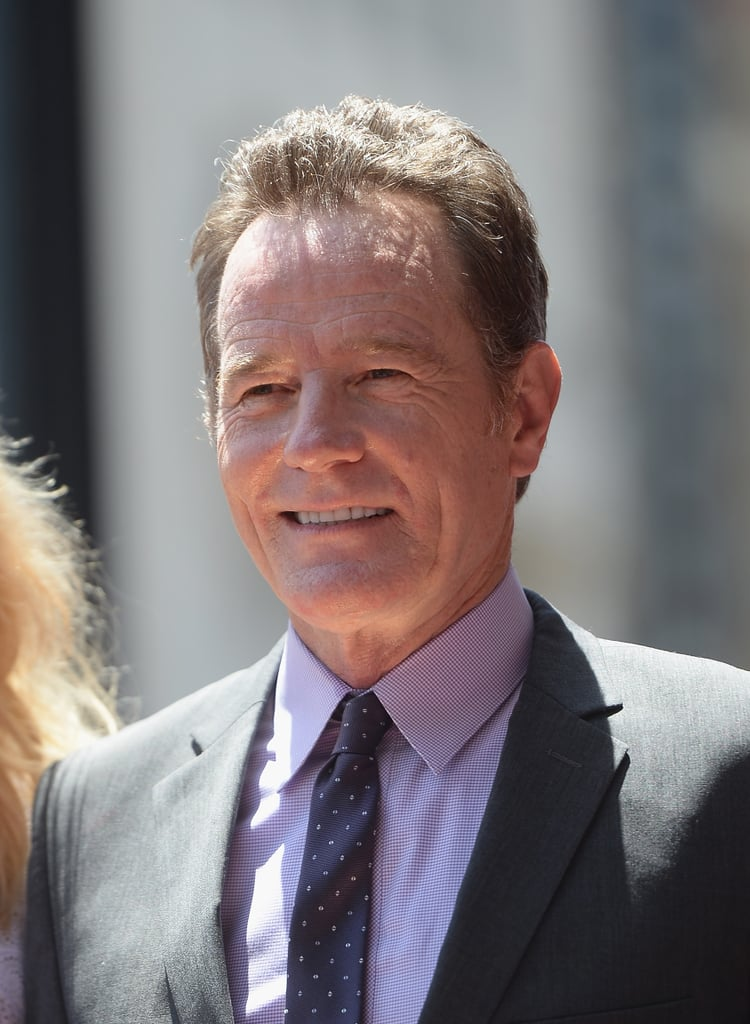 Bryan Cranston was awarded with a star on the Hollywood Walk of Fame in LA on Tuesday.