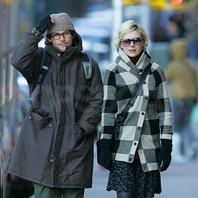 Kirsten Dunst With Her Guy Out in NYC