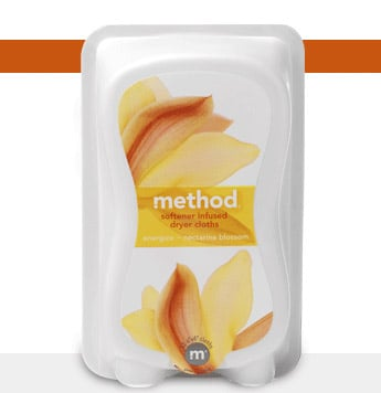 Simply Fab: method Softener Infused Dryer Cloths
