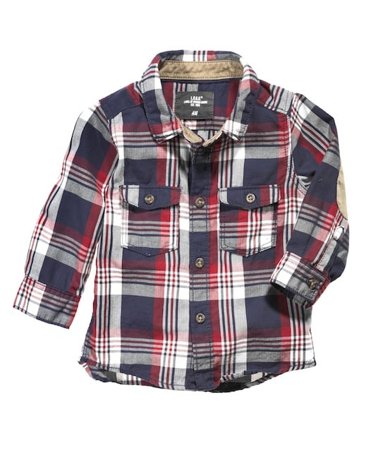 Mad for plaid? We are! Your little lumberjack will keep cozy in a little flannel shirt all Fall (and Winter) long.