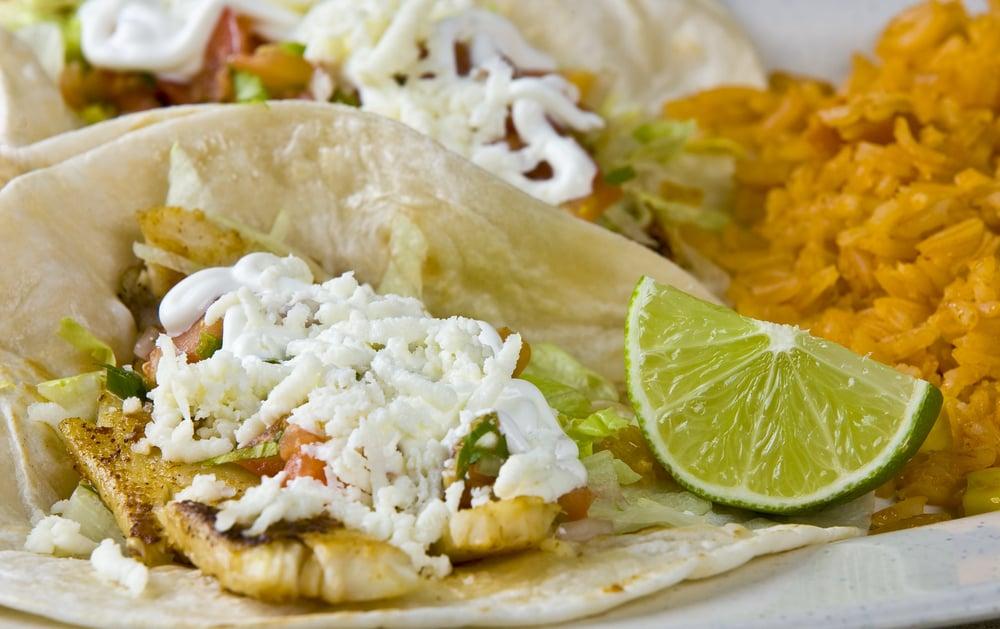 Fish Tacos at Petco Park