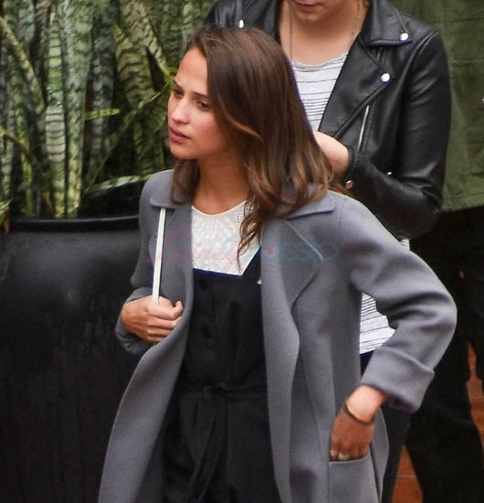 Alicia Vikander and Michael Fassbender go bowling in Sydney