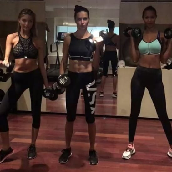 Adriana Lima, Lais Ribeiro, and Martha Hunt Workout Video