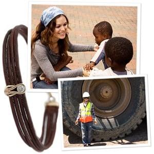 Rachel Bilson Designs Charity Bracelet for Diamond Empowerment Fund in Africa 2010-01-21 15:00:22