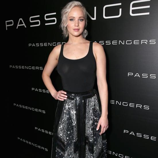 Jennifer Lawrence Altuzarra Skirt at CinemaCon 2016