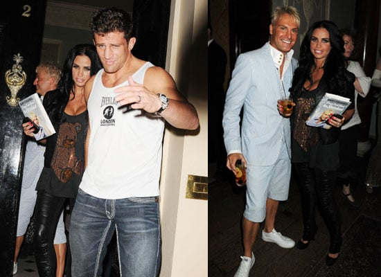 Pictures of Katie Price and Alex Reid at Gary Cockerill's Book Launch Ahead of Her Novel Paradise Book Launch