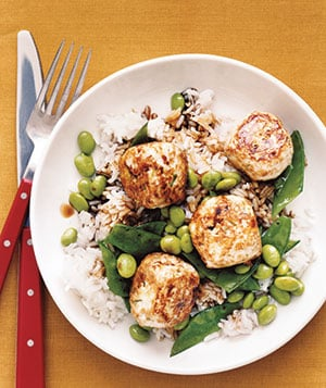 Fast & Easy Recipe for Chicken Teriyaki Meatballs With Vegetables