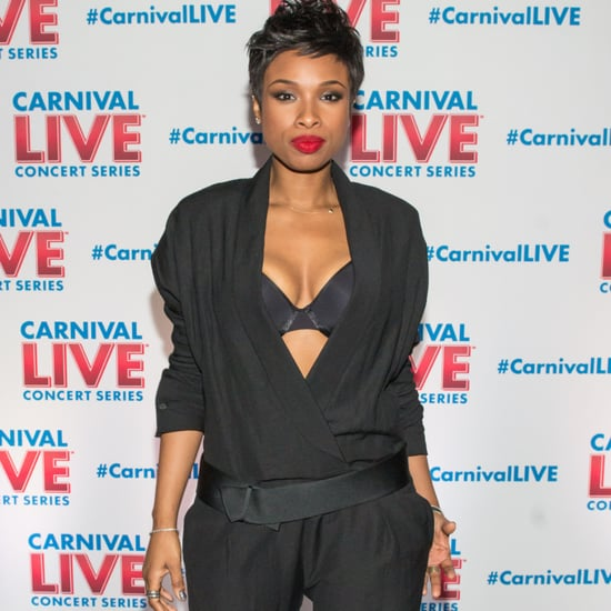 Jennifer Hudson in Sexy Black Jumpsuit
