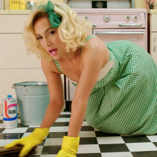 """Jennifer Lopez Goes Full '50s Housewife in Her """"Ain't Your Mama"""" Music Video"""