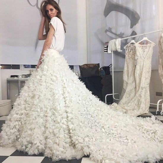 Chiara Ferragni Pronovias Wedding Dress
