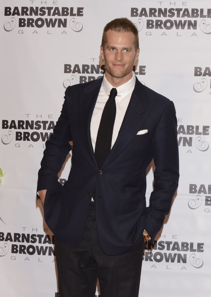Tom Brady stepped out for the Barnstable Brown Gala on Friday.