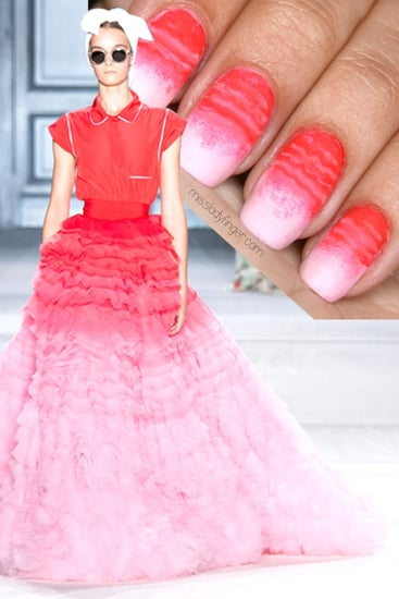 How to Create an Ombré Nail Design Using Your Makeup Sponge