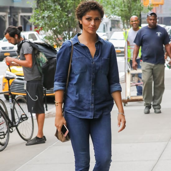 Camila Alves Wearing Denim on Denim June 2016