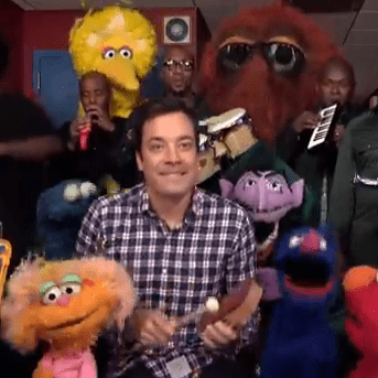Jimmy Fallon Singing Sesame Street Theme