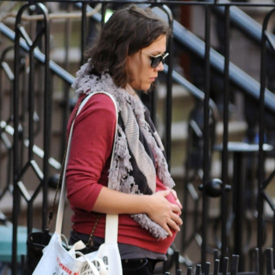 Pregnant Maggie Gyllenhaal Pictures in NYC