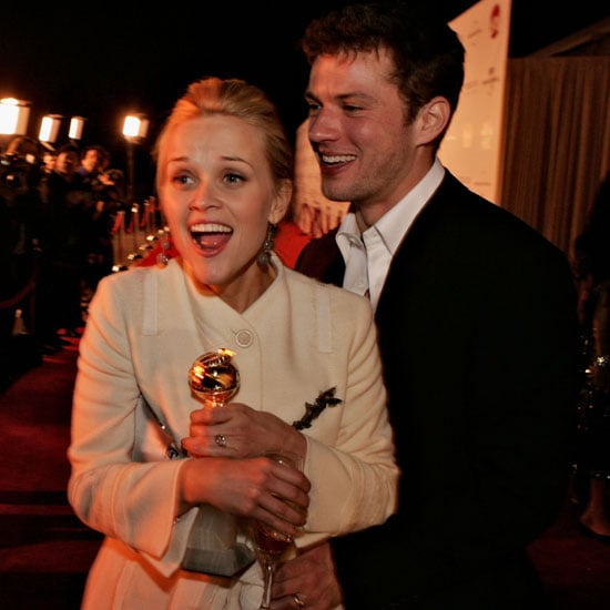 Reese Witherspoon had her then-husband Ryan Phillippe by her side when she won best actress for Walk the Line in 2006.