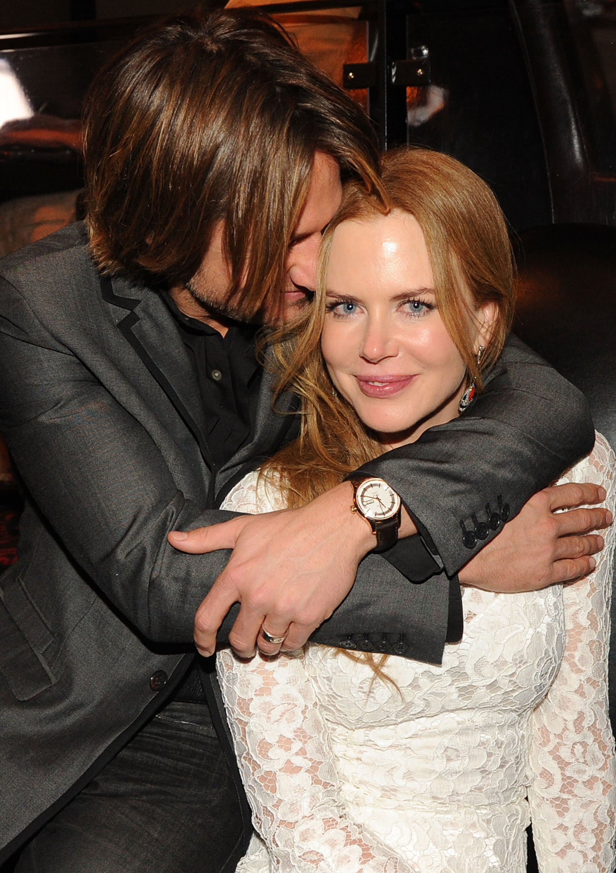 In November 2010, Keith got close to Nicole at a CMA Awards afterparty in Nashville.