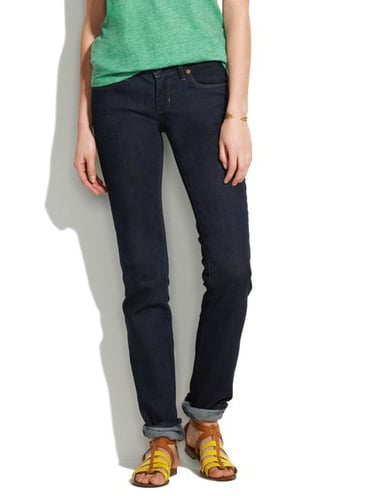 Madewell Rail Straight Jeans in Madewell Wash ($99)