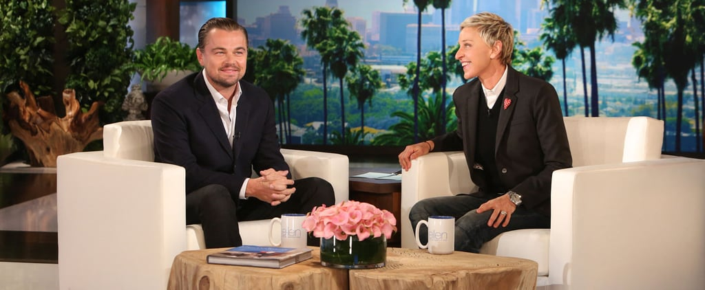 Leonardo DiCaprio's Hilarious Impression of an Aloof Flight Attendant Is the Best Thing You'll See Today