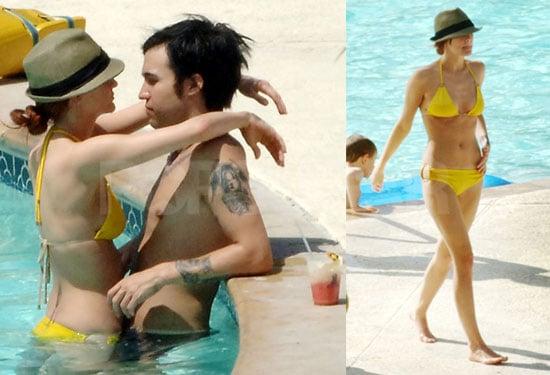 Ashlee Heats Up Jamaica With Bikini Body and Pool Romance