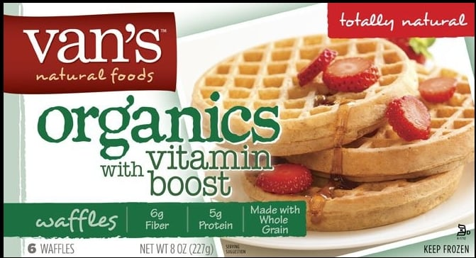 For the Freezer: Organic Waffles