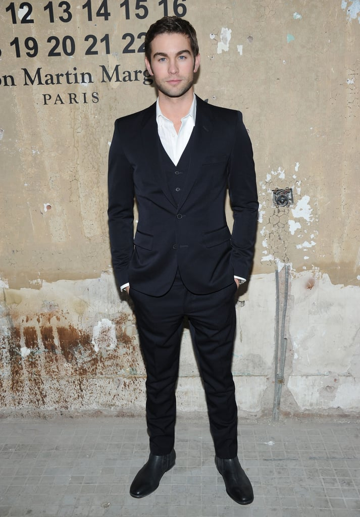 Chace Crawford stepped out to attend the launch of Maison Martin Margiela for H&M in NYC.