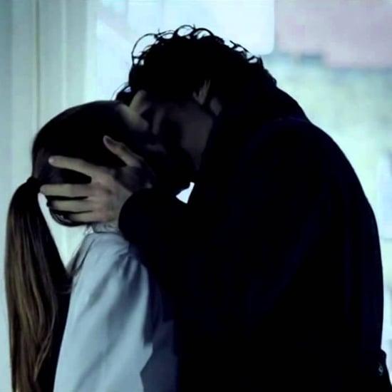 Sherlock and Molly Kiss GIF