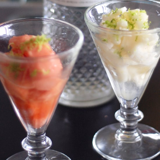 Sorbet With Vodka and Lime Zest Recipe