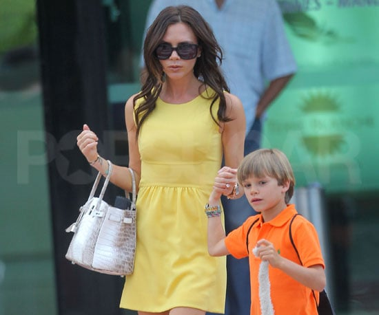 Slide Picture of Victoria Beckham's New Hair Extensions