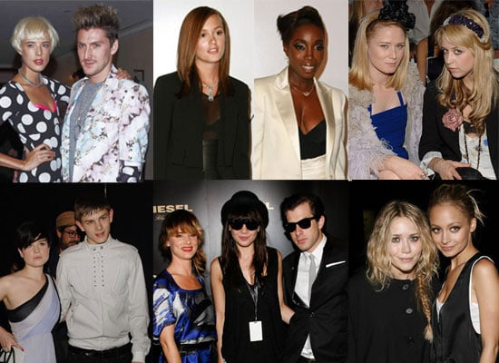Gallery Of Celebrities At New York Fashion Week Including Agyness Deyn, Daisy Lowe, Leighton Meester, Nicole Richie, Mary Kate