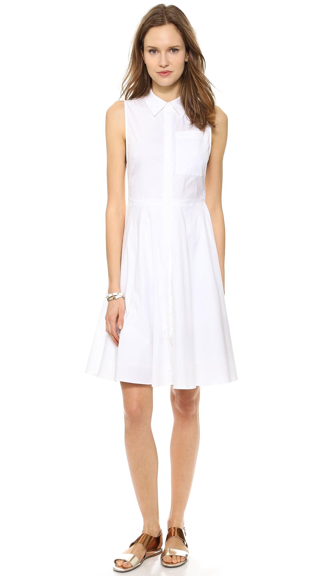 A.L.C. White Shirtdress