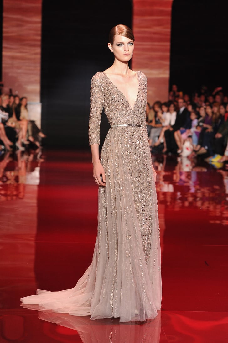 Elie saab haute couture fall 2013 elie saab haute for Couture a fronce