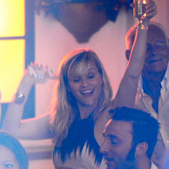 Reese Witherspoon Drinking and Dancing in Italy | Pictures