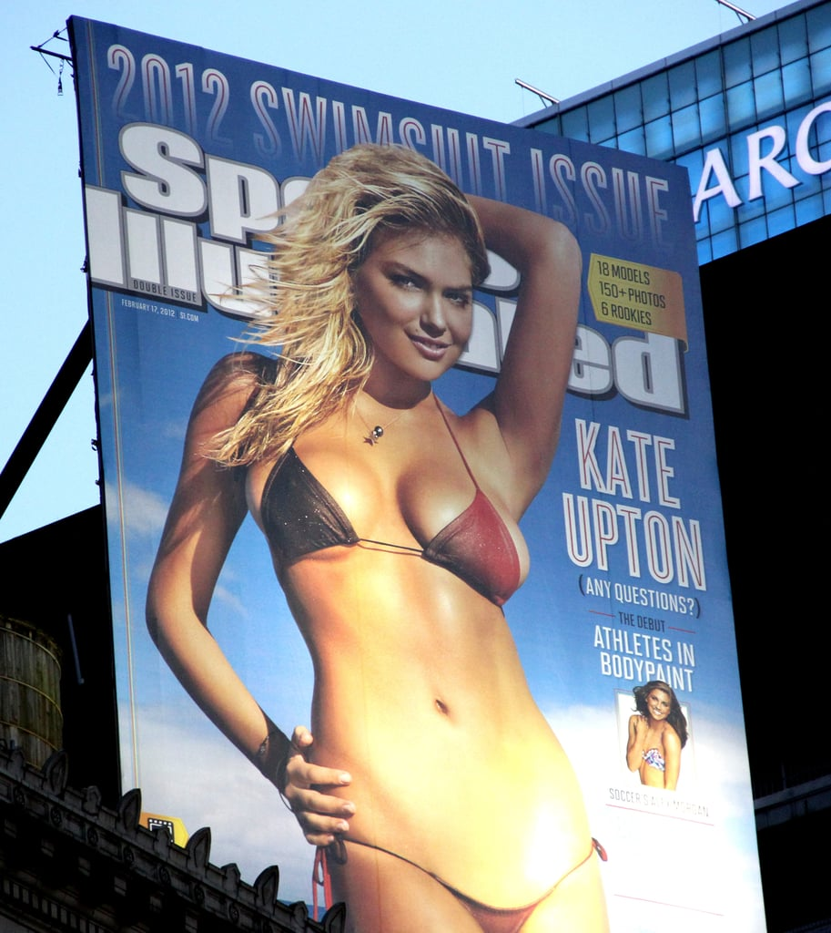 Kate Upton's Sports Illustrated cover.