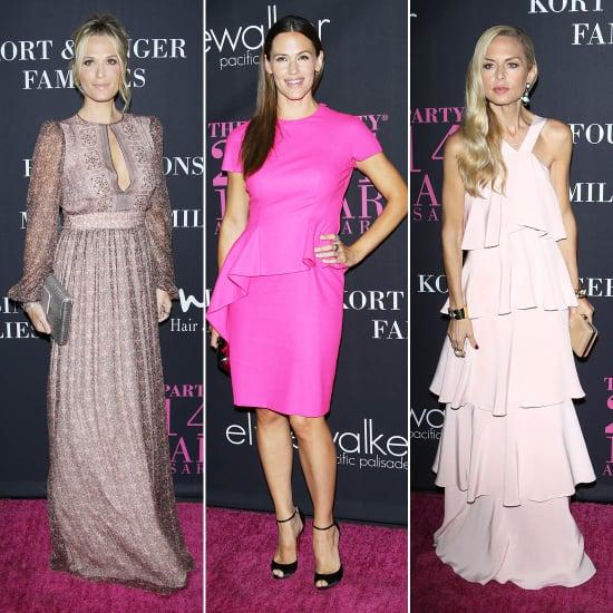 Jennifer Garner in Dior at Pink Party