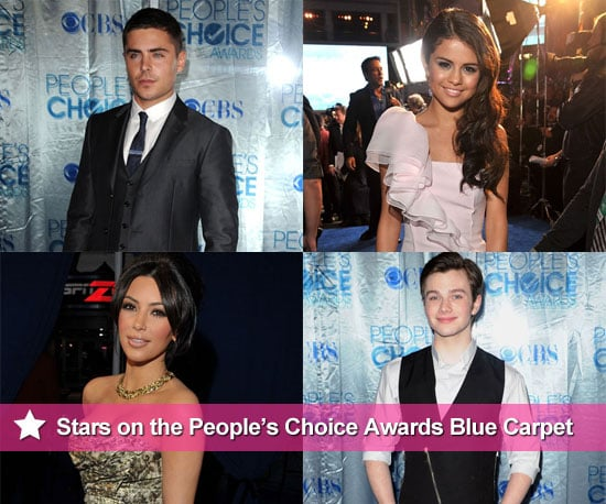 Pictures of Zac Efron, Taylor Swift, Kim Kardashian and More at the 2011 People's Choice Awards