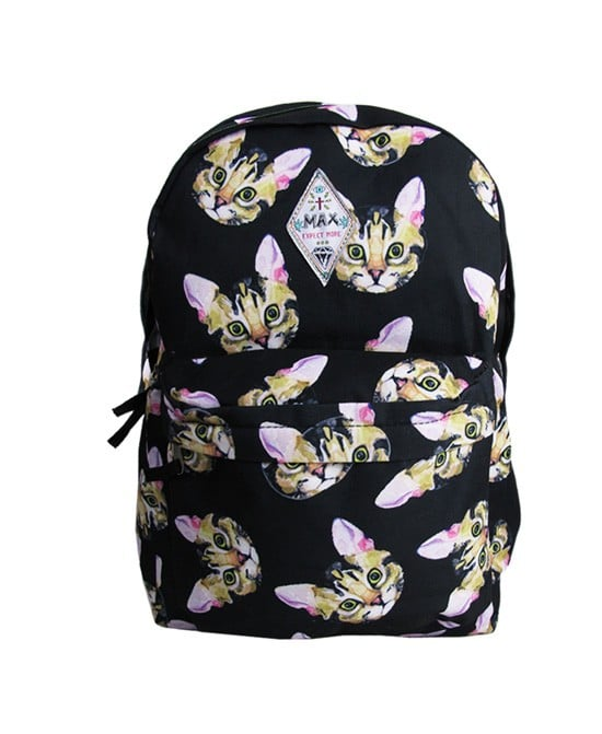 Chicnova Cat Print Backpack