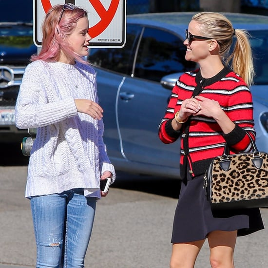 Reese Witherspoon and Ava Phillippe Going to Nail Salon