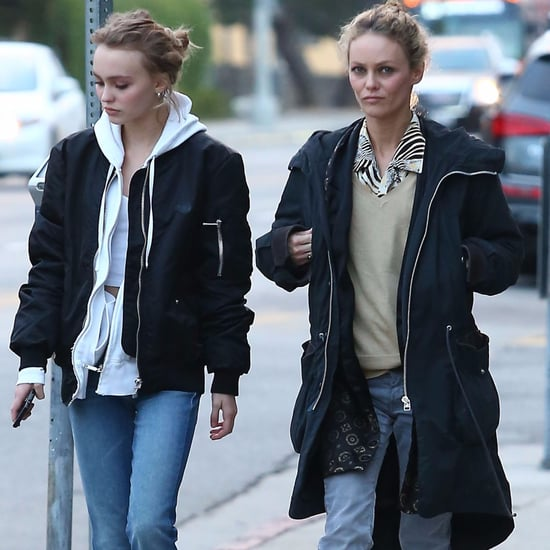 Vanessa Paradis and Lily-Rose Depp Shopping in LA 2016