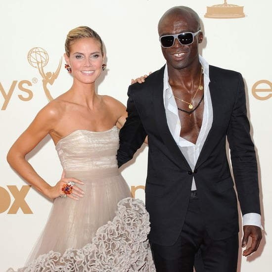 Heidi Klum Emmys 2011 Red Carpet Pictures