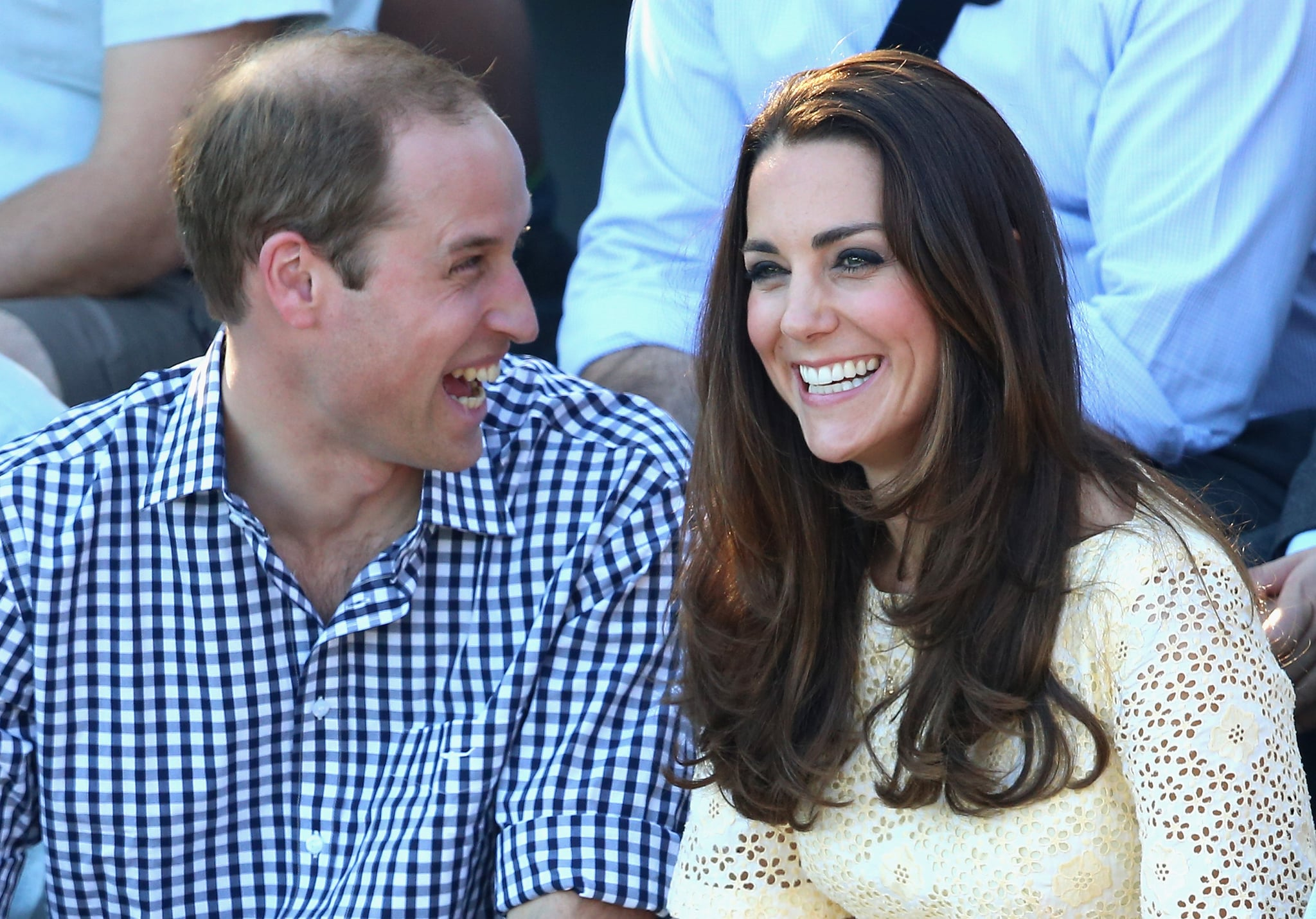 The royal pair cracked up during their 2014 trip to Australia.